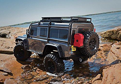 RC Auto kaufen Crawler Bild 3: Traxxas Landrover Defender Brushed RC Modellauto Elektro Crawler Allradantrieb (4WD) RTR 2,4 GHz*