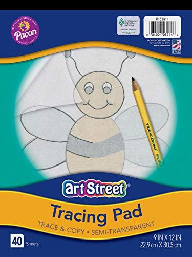 "Pacon PAC103914 Tracing Pad, 9"" x 12"""
