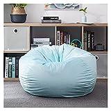 ppqq Adecuado para interior sin relleno, para salón, sofá, cama, ocio, Tatami, puf o sillón, sofá, sofá, color verde