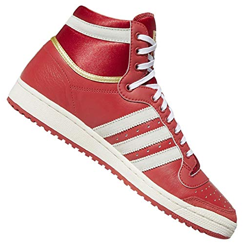 adidas Originals Top Ten Hi EF6367 Glory - Zapatillas unisex, color Rojo, talla 38 2/3 EU