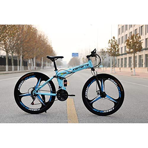 Dapang Bicicleta de montaña de Doble suspensión Completa, con Ruedas de 26...