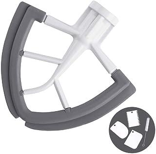 Flex Edge Beater for KitchenAid Tilt-Head Stand Mixer - 4.5-5 Quart Flat Beater Blade with Flexible Silicone Edges