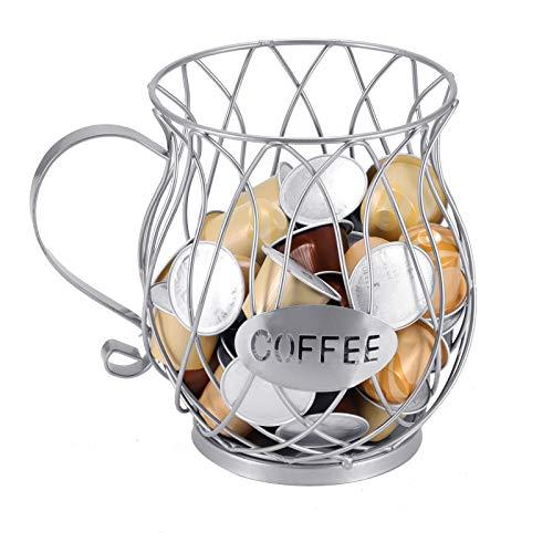 Miouldram Cesta de café Dolce Gusto, soporte para posos de café, soporte para cafetería en casa, hotel