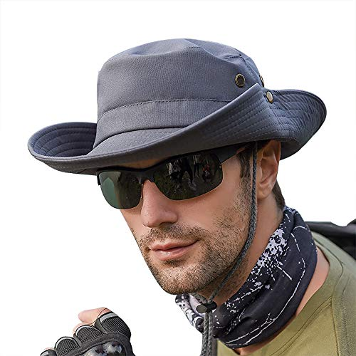 Peicees Wide Brim Fishing Hat, UV Sun Protection UPF50+ Shade Hat,...