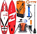 Zray Fury PRO 10' Premium SUP Stand Up Paddle Board Carbon Paddel Kajak Sitz 320cm