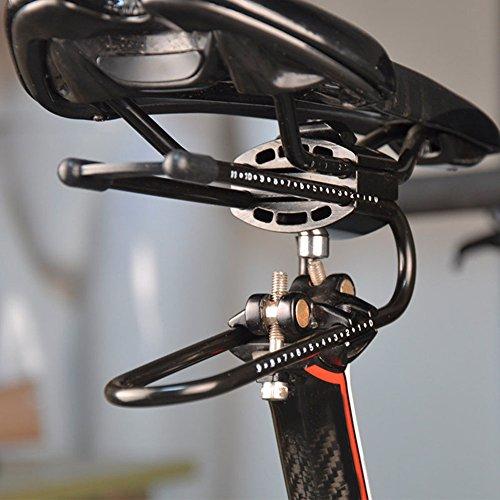 Klinkamz Fahrradsattel, Federstahl, Federstahl, Stoßdämpfer für Mountainbike-Teile - 7