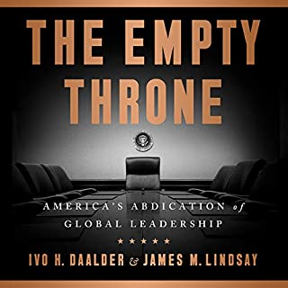 The Empty Throne audiobook cover art