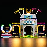 Set di Luci per (Friends La Gara di Equitazione di Stephanie) Modello da Costruire - Kit Luce LED Compatibile con Lego 41367 - Non Incluso nel Modello