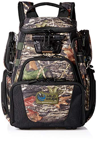 Wild River CLC WCT503 Tackle Tek Recon Lighted Compact Backpack, Mossy Oak