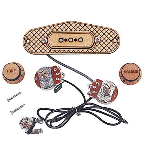 Single Coil Pickup Maple Für 3 Saitige Cigar Box Gitarre