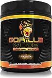 Gorilla Mode Pre Workout - Massive Pumps · Laser Focus · Energy · Power - L-Citrulline, Creatine, GlycerPump™, L-Tyrosine, Agmatine, Kanna, N-Phenethyl Dimethylamine Citrate - 617 Grams… (Mango Peach)