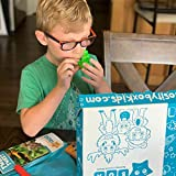 The Discover Kids Themed Craft and Educational Activities Subscription Box for Ages 2-4 from Curiosity Box Kids Delivered To Your Door Monthly