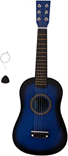 """FESTNIGHT 23"""" Acoustic Guitar with Guitar Pick and Strings Basswood Cutaway Guitar for Beginner/Kids/Boys/Girls/Junior/Adult/Children/Youth Blue"""