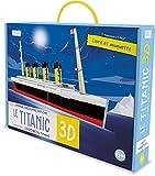 Voyage, découvre, explore Le Titanic 3D l'histoire du Titanic: Livre et maquette