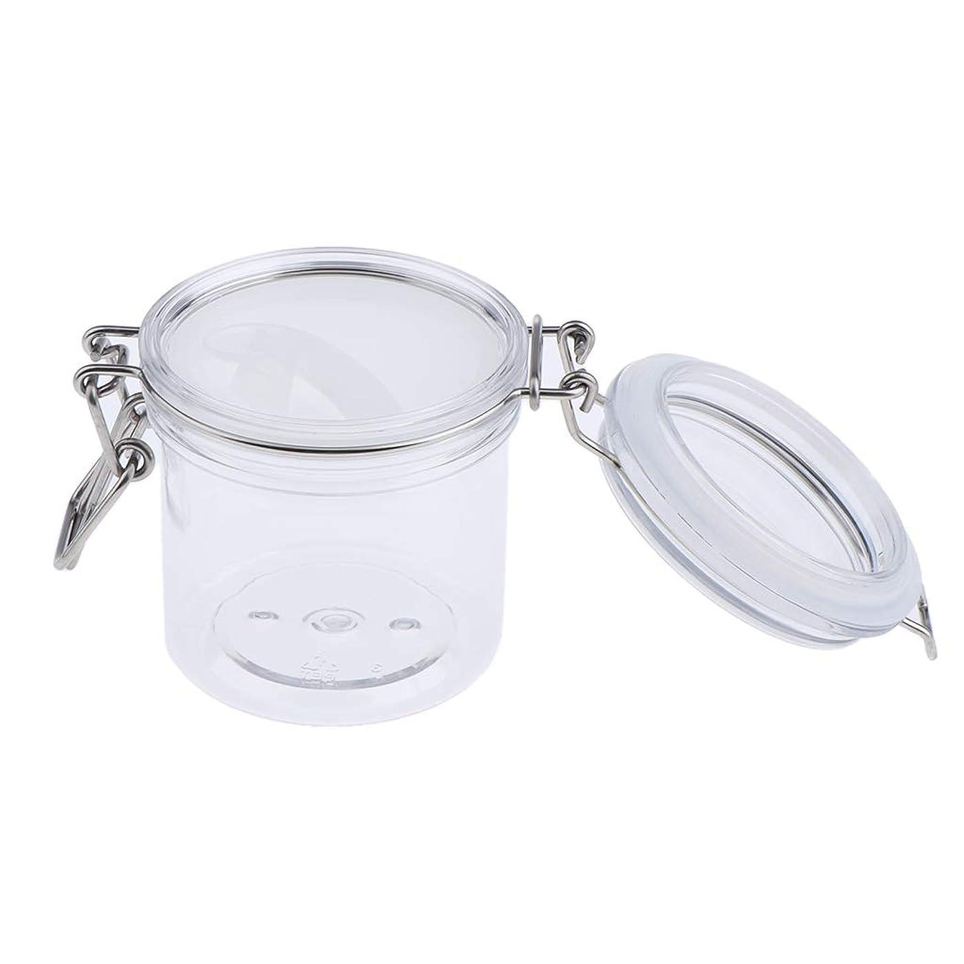 豚くぼみフォーマルP Prettyia 化粧品容器 マスクジャー スプーン付き 耐久性 詰め替え 3サイズ選べ - 200g