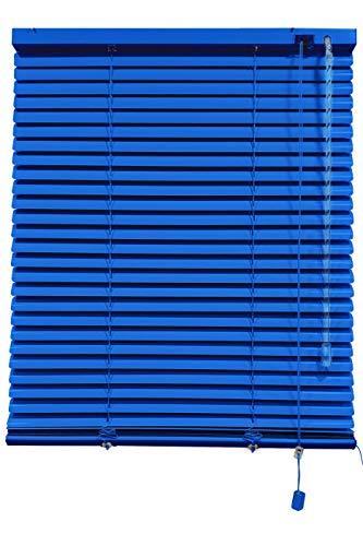 Decorestor Persianas Venecianas de Aluminio A TU Medida, Anchos de 36 a 240cm. Azul. Venecianas Aluminio, Cortinas venecianas