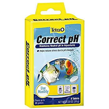 Tetra Correct pH Tablets 8 Count For aquarium Water