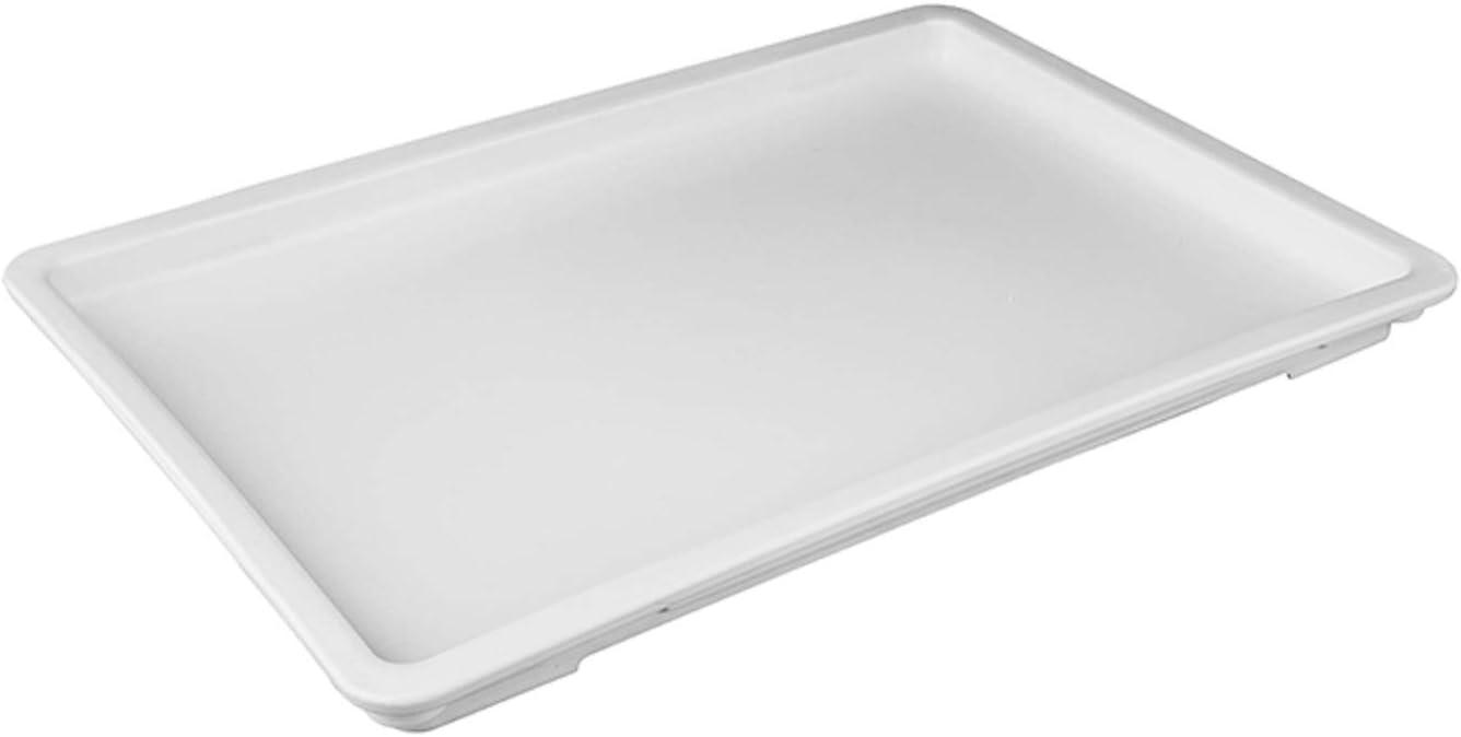 Caspian White Lid for Plastic Pizza 1 half L Box Covering Department store Piece Dough