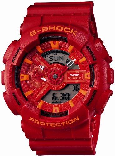 [カシオ] 腕時計 ジーショック GA-110AC-4AJF レッド