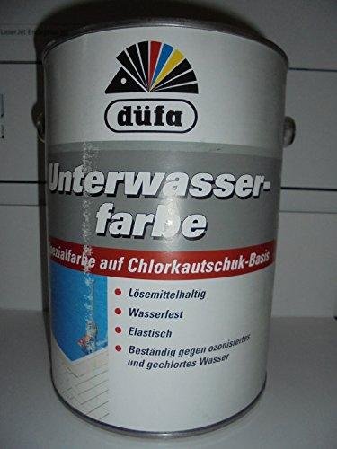 düfa Unterwasser-Farbe 2,5 L Meeresblau Spezialfarbe auf Chlorkautschuk-Basis