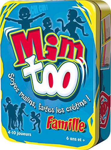 Mimtoo Famille - Asmodee - Jeu de société - Jeu d ambiance - Jeu famille - Jeu de mimes