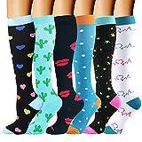 Calcetines de compresión para Mujeres Hombres Soporte Medias de compresión Medias de trombosis Médicas para el Embarazo Vuelo Deportivo Calcetines antitrombosis