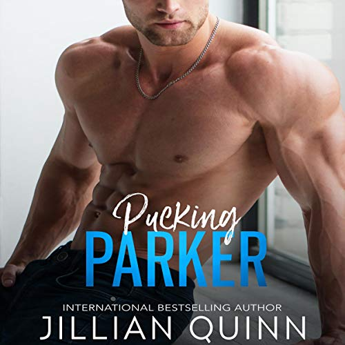 Pucking Parker audiobook cover art