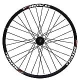 LSRRYD Ciclismo Ruedas MTB Rueda 26 Pulgadas Juego Ruedas Bicicleta Llanta Aleación Doble Pared Freno Disco 7-11 Velocidad Hub Sellado Liberación Rápida Neumáticos 1.75-2.1' 32H (Color : Rear Wheel)