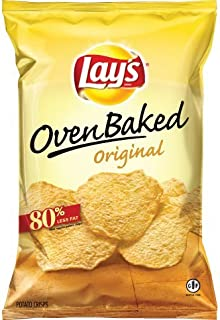 Lay's Oven Baked Original Potato Chips 6 1/4 oz (3 Pack)
