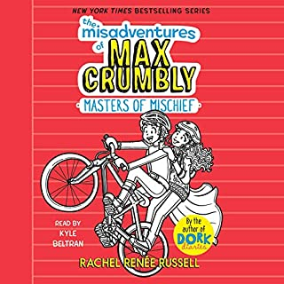 The Misadventures of Max Crumbly 3                   Written by:                                                                                                                                 Rachel Renée Russell                               Narrated by:                                                                                                                                 Kyle Beltran                      Length: 2 hrs     Not rated yet     Overall 0.0