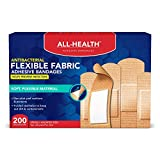 All Health Extreme Hydrocolloid Gel Blister Cushion Bandages, Heel, 1.65 in x 2.67 in, 5 ct | Long Lasting Protection Against Rubbing and Friction for Blisters, 200 Count