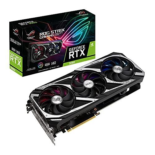 ASUSTek GeForce RTX 3060 搭載 トリプルファンモデル 12G ROG-STRIX-RTX3060-12G-GAMING