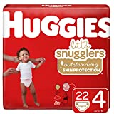 Huggies Little Snugglers, Baby Diapers, Size 4, 22 Ct