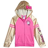 JoJo Siwa Big Girls Zip-Up Hoodie Bow Pink 7-8