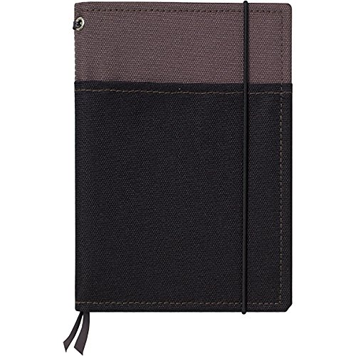 Kokuyo cover notebook systemic gray / black A6 B ruled 48 sheets Bruno -659B-1 by Kokuyo Co., Ltd.
