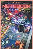 Pinball Notebook: 120 Lined Page Pinball Arcade Notebook Journal for College, School, Notes