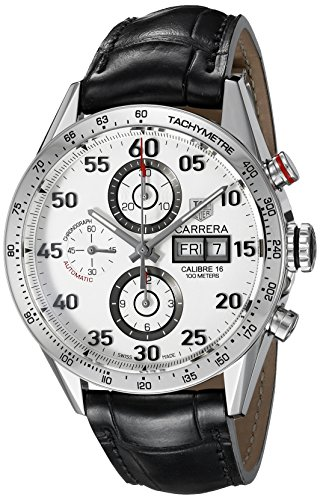 TAG Heuer Men's CV2A11.FC6235 Carrera Calibre 16 Swiss Automatic Chronograph Watch