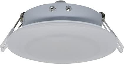Facon 4.5Inch LED RV Puck Light Full Aluminum Recessed Mount Down Light 12V Interior Light for RV Motor-Homes Camper Caravan Trailer Boat