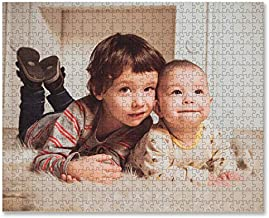 Personalized Puzzle, Custom Puzzle from Photos Jigsaw Puzzles 200/300/500/1000 Pieces Customized Puzzles for Adults Family Friends Wedding Gifts