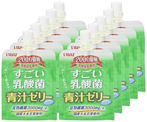 いなばすごい乳酸菌青汁ゼリー180g×30個