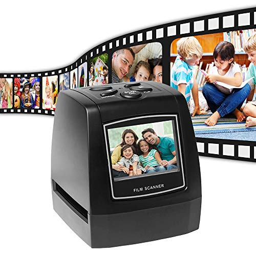 YBZS Portable 5MP 35mm Negative Film Scanner Slide Photo Film/Converts USB Cable/with 2.4' LCD