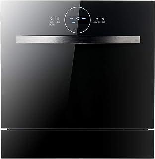 Lavavajillas Lavavajillas portátil encimera Lavavajillas Lavavajillas empotrable de dos en uno 1380W de alta temperatura de esterilización y secado de alta capacidad (Color: Negro) zhihao