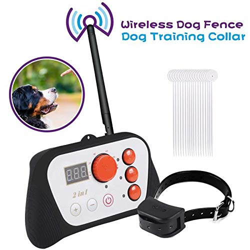 TaoHorse Wireless Dog Fence 2 in 1 System