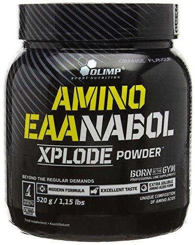 Olimp Labs Amino EAAnabol Xplode Powder, Orange Flavour, 520 g
