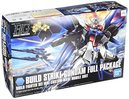 Bandai 1/144 Scale Kit HG Build Fighters 001 Build Strike Gundam Full Package
