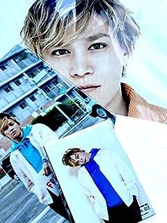 Kis-My-Ft2 【(千賀健永)ジャンボうちわ+クリアファイル+オリジナルフォトセット】LIVE TOUR 2019 FREE HUGS! + 公式写真 1種 セット...