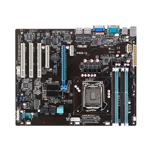 Asus P9D X Serverboard Sockel LGA1150 Intel C222 ATX VGA 2X LAN U3 SATA III DDR3 Speicher