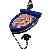 Petdog house Weiches Cozy Luxus Hundebett Boat Hund Katze Haus für Kleine bis Mittelgroße Haustiere, L:27.6*21.6*5 inch, Blue L
