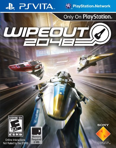 Sony Wipeout 2048, PS Vita