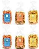 Clever Pasta 6er Sparpack - rote Linsennudeln, Kichererbsennudeln, Erbsen Nudel